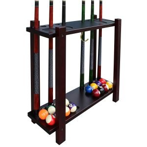 best pool cue floor racks