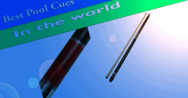 top pool cues in the world