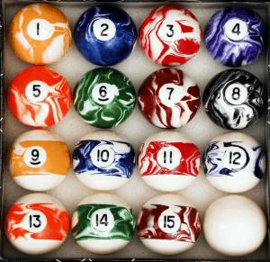 Iszy Billiards Pool Ball Set