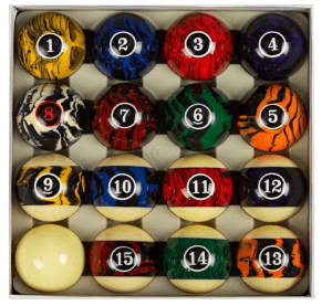 Collapsor Deluxe Pool Ball Set