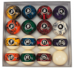 GSE Games & Sports Professional Pool Ball Set