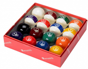 Aramith Continental Pool Ball Set