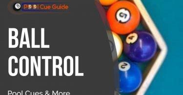 pool cue ball control