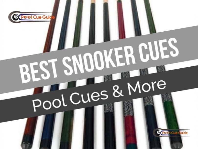 top snooker cues