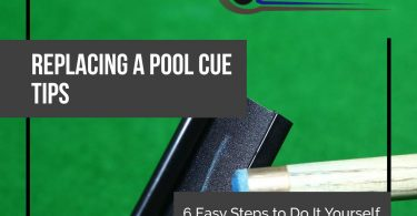 how to replace a pool cue tip